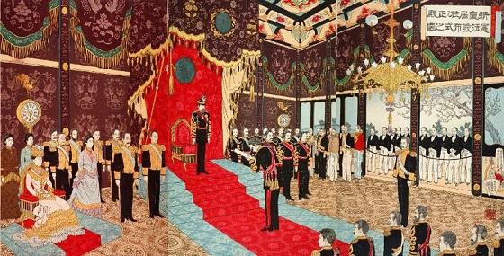 憲法作成と帝国議会の成立