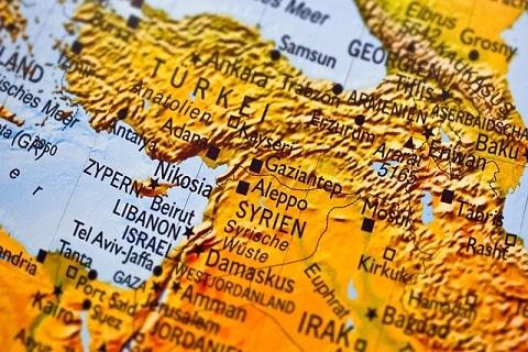 東地中海地図